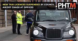 NEW TAXI LICENCES SUSPENDED BY COUNCIL AMIDST CHAOS AT OFFICES