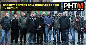 BARROW DRIVERS CALL KNOWLEDGE TEST INSULTING