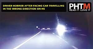 NAILSEA DRIVER SPEAKS OF HORROR AFTER FACING CAR TRAVELLING ALONG THE M5 IN THE WRONG DIRECTION