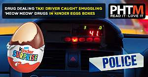 DRUG DEALING BANBURY DRIVER CAUGHT SMUGGLING MEOW MEOW DRUGS IN KINDER EGGS BOXES