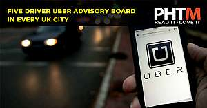FIVE DRIVER UBER ADVISORY BOARD IN EVERY UK CITY