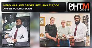HERO MARLOW DRIVER RETURNS 12000 AFTER FOILING SCAM