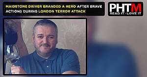 MAIDSTONE DRIVER BRANDED A HERO AFTER BRAVE ACTIONS DURING LONDON TERROR ATTACK