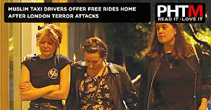 MUSLIM TAXI DRIVERS OFFER FREE RIDES HOME AFTER LONDON TERROR ATTACKS