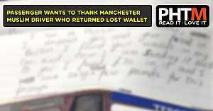 PASSENGER WANTS TO THANK MANCHESTER DRIVER WHO RETURNED LOST WALLET