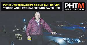 PLYMOUTH TEENAGERS ROGUE TAXI DRIVER TERROR AND THE HERO CABBIE WHO SAVED HER