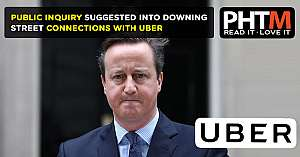 PUBLIC INQUIRY SUGGESTED INTO DOWNING STREET CONNECTIONS WITH UBER