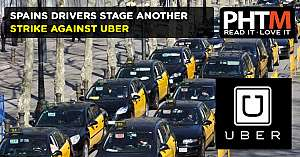 SPAINS DRIVERS STAGE ANOTHER STRIKE AGAINST UBER