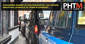 STAGGERING NUMBER OF WOLVERHAMPTON TAXI DRIVERS EXPLOITING LOOPHOLE TO WORK IN COVENTRY