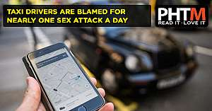 TAXI DRIVERS ARE BLAMED FOR NEARLY ONE SEX ATTACK A DAY