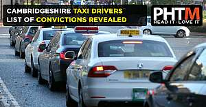 CAMBRIDGESHIRE TAXI DRIVERS LIST OF CONVICTIONS REVEALED
