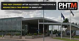 TWO MEN HAVE BEEN CHARGED AFTER ALLEGEDLY THREATENING AND ASSAULTING A TAXI DRIVER IN EBBSFLEET