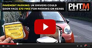 PAVEMENT PARKING UK DRIVERS COULD SOON FACE 70 FINE FOR PARKING ON KERBS