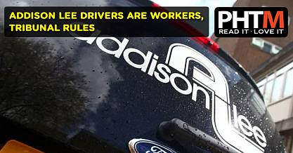 ADDISON LEE DRIVERS ARE WORKERS TRIBUNAL RULES