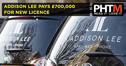 ADDISON LEE PAYS 700 000 FOR NEW LICENCE