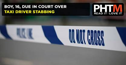 BOY, 16, DUE IN COURT OVER TAXI DRIVER STABBING