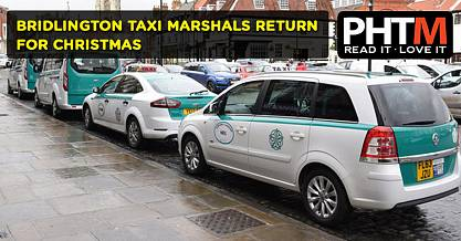 BRIDLINGTON TAXI MARSHALS RETURN FOR CHRISTMAS