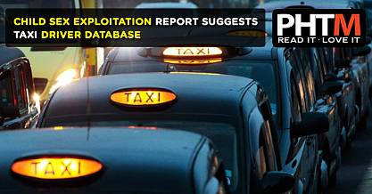 CHILD SEX EXPLOITATION REPORT SUGGESTS TAXI DRIVER DATABASE