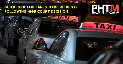 GUILDFORD TAXI FARES TO BE REDUCED FOLLOWING HIGH COURT DECISION