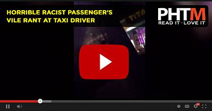 HORRIBLE RACIST PASSENGER'S VILE RANT AT TAXI DRIVER