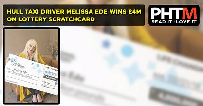 HULL TAXI DRIVER MELISSA EDE WINS 4M ON LOTTERY SCRATCHCARD