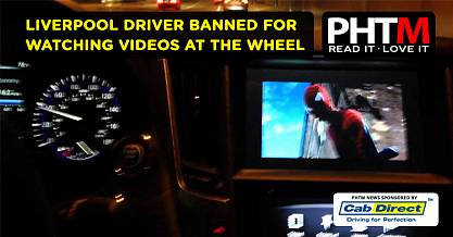 LIVERPOOL DRIVER BANNED FOR WATCHING VIDEOS