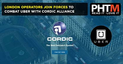 LONDON OPERATORS JOIN FORCES TO COMBAT UBER WITH CORDIC ALLIANCE