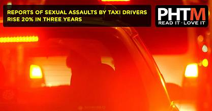 REPORTS OF SEXUAL ASSAULTS BY TAXI DRIVERS RISE 20 PERCENT IN THREE YEARS