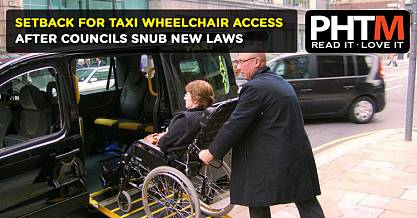 SETBACK FOR TAXI WHEELCHAIR ACCESS, AFTER COUNCILS SNUB NEW LAWS