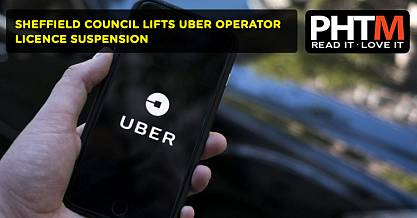 SHEFFIELD COUNCIL LIFTS UBER OPERATOR LICENCE SUSPENSION
