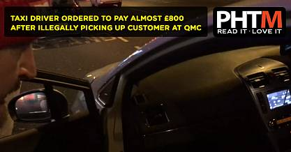 TAXI DRIVER ORDERED TO PAY ALMOST 800 AFTER ILLEGALLY PICKING UP CUSTOMER AT QMC