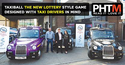 TAXIBALL THE NEW LOTTERY STYLE GAME DESIGNED WITH DRIVERS IN MIND