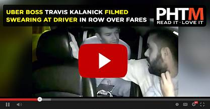 UBER BOSS TRAVIS KALANICK FILMED SWEARING AT DRIVER IN ROW OVER FARES