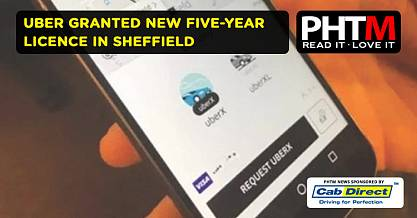 UBER GRANTED NEW FIVE YEAR LICENCE IN SHEFFIELD