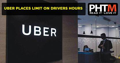 UBER PLACES LIMIT ON DRIVERS HOURS