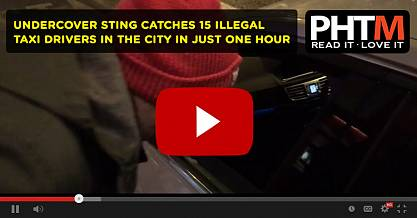UNDERCOVER STING CATCHES 15 ILLEGAL TAXI DRIVERS IN THE CITY IN JUST ONE HOUR