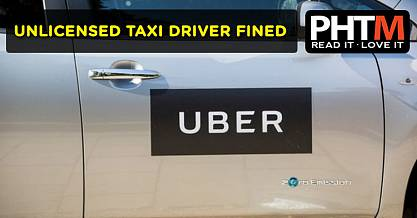 UNLICENSED TAXI DRIVER FINED