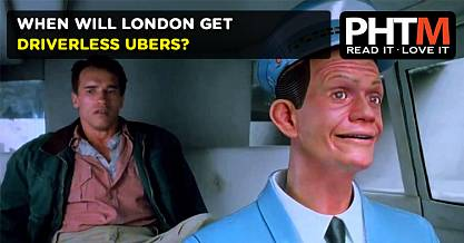 WHEN WILL LONDON GET DRIVERLESS UBERS