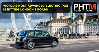 WORLDS MOST ADVANCED ELECTRIC TAXI IS HITTING LONDONS ROADS