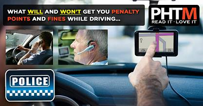 WHAT WILL AND WONT GET YOU PENALTY POINTS AND FINES WHILE DRIVING