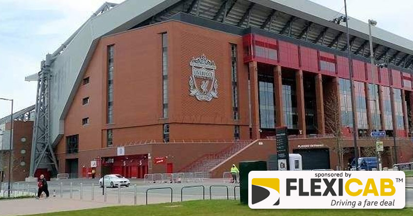 OUT OF PH DRIVER SNARED TRYING TO SCAM LIVERPOOL FANS AT ANFIELD