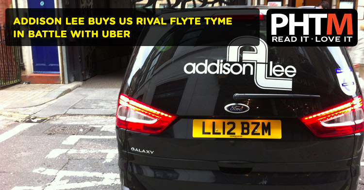 ADDISON LEE BUYS US RIVAL FLYTE TYME IN BATTLE WITH UBER