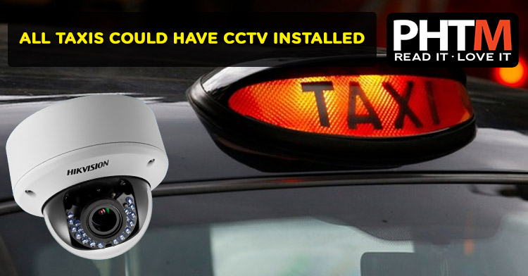 ALL TAXIS COULD HAVE CCTV INSTALLED