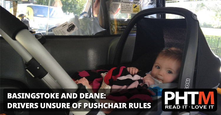 BASINGSTOKE AND DEANE: DRIVERS UNSURE OF PUSHCHAIR RULES