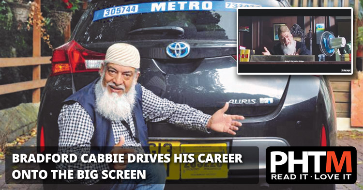 BRADFORD CABBIE DRIVES HIS CAREER ONTO THE BIG SCREEN
