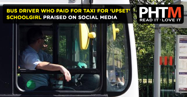 BUS DRIVER WHO PAID FOR TAXI FOR 'UPSET' SCHOOLGIRL PRAISED ON SOCIAL MEDIA