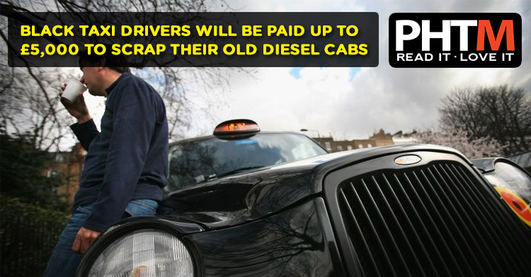 Sadiq Khan wants to pay black taxi drivers £42m to scrap the most polluting diesel cabs