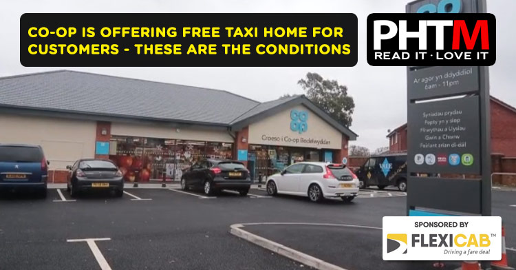 CO-OP IS OFFERING FREE TAXI HOME FOR CUSTOMERS - THESE ARE THE CONDITIONS