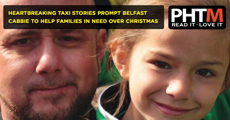 HEARTBREAKING TAXI STORIES PROMPT BELFAST CABBIE TO HELP FAMILIES IN NEED OVER CHRISTMAS