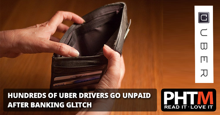 Hundreds of Uber drivers have not been paid during a week in November